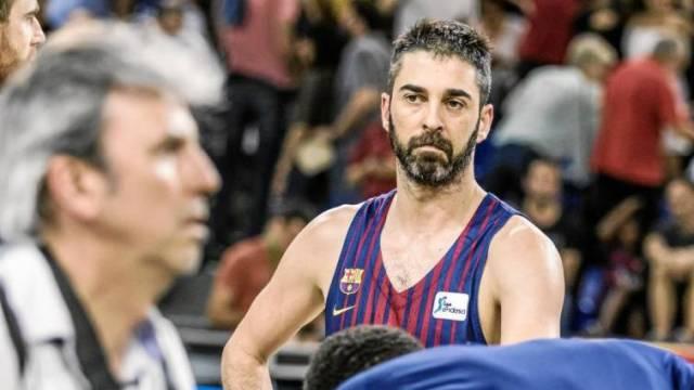 Juan Carlos Navarro triste derrota retirada