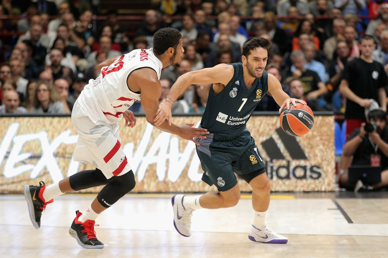 Facundo Campazzo Milán Madrid real Brooks