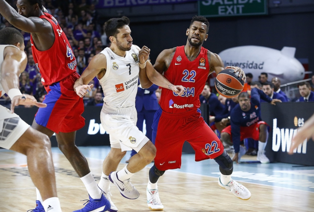Real Madrid Cska Higgins Campazzo euroleague baloncesto