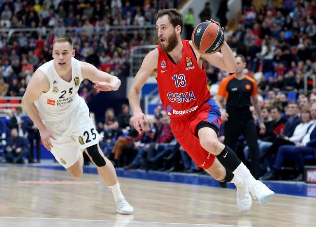 Sergio Rodríguez Prepelic MOSCOW CSKA MADRID EUROLEAGUE