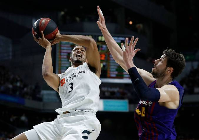 Randolph Tomic acb Real Madrid barcelona