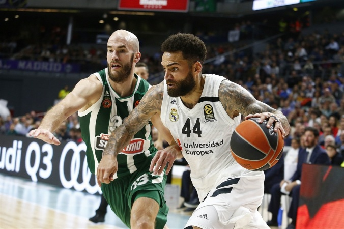 Jeffery Taylor Real Madrid Calathes Panathinaikos Euroleague