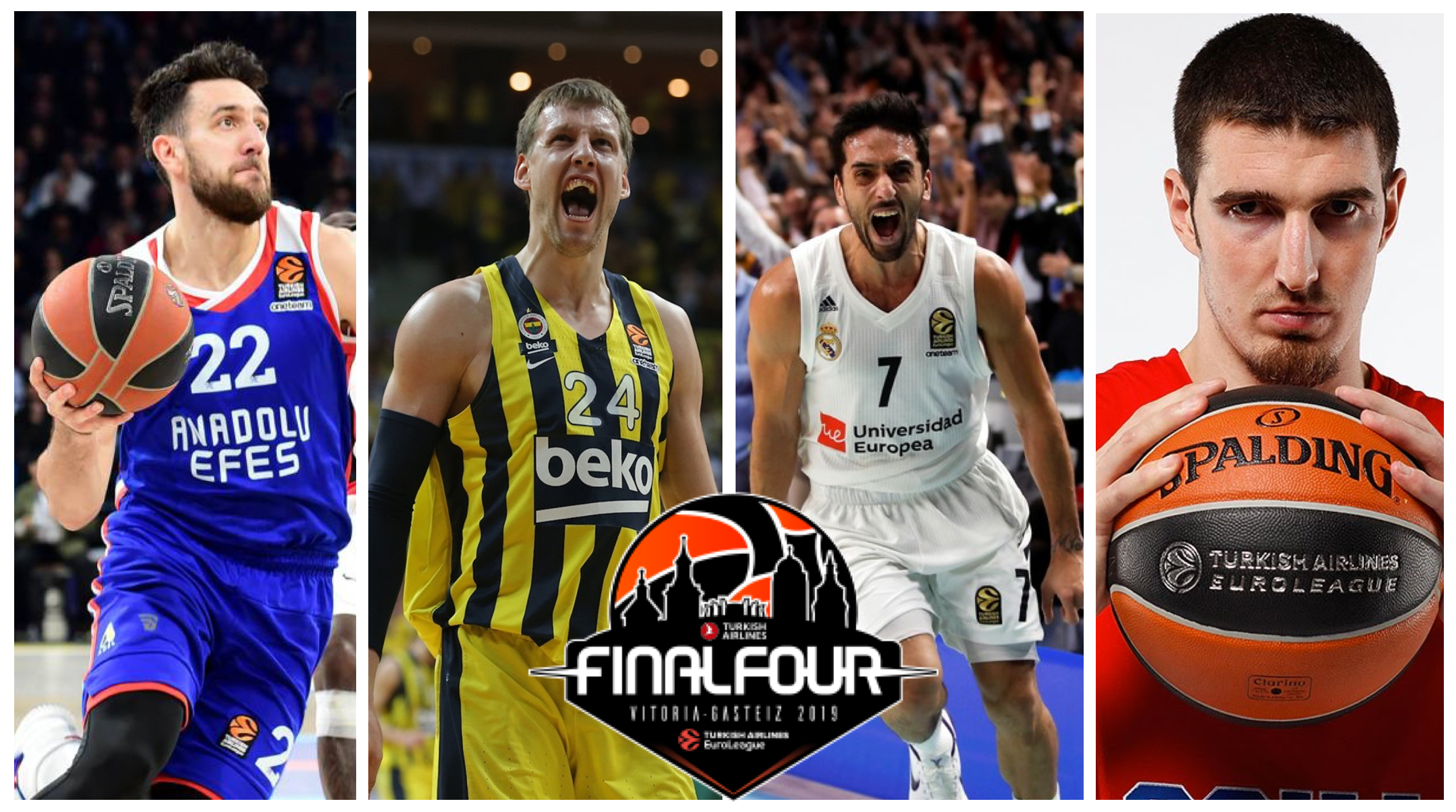Final Four Vitoria Euroleague De Colo Campazzo Vesely Micic