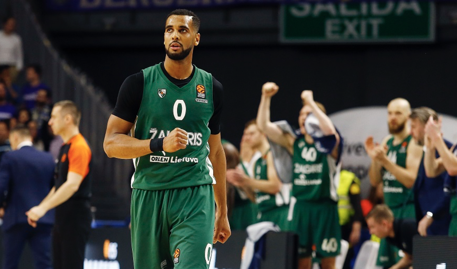 Brandon Davies Real Madrid Zalgiris Euroleague