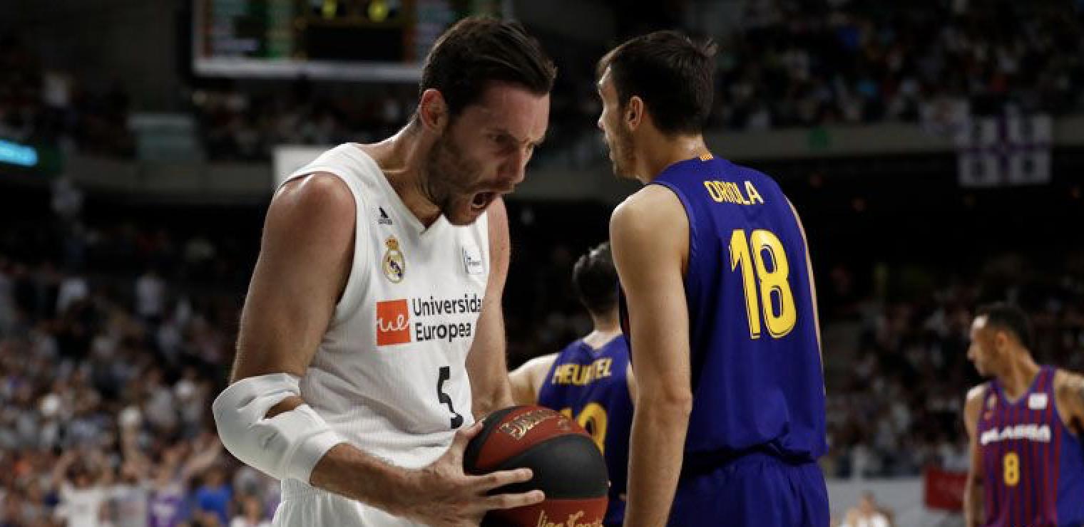 Rudy Fernández final ACB contra el Barca