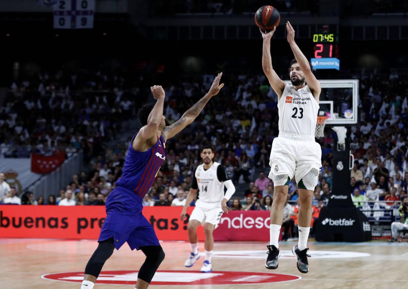 Sergio Llull final ACB Barcelona