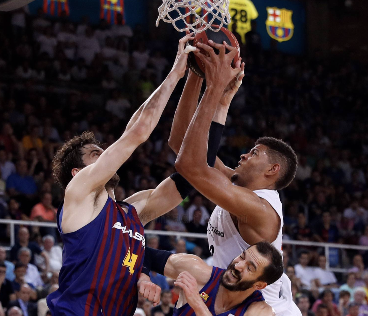 Tavares Tomic Ribas Real Madrid Barcelona ACB final