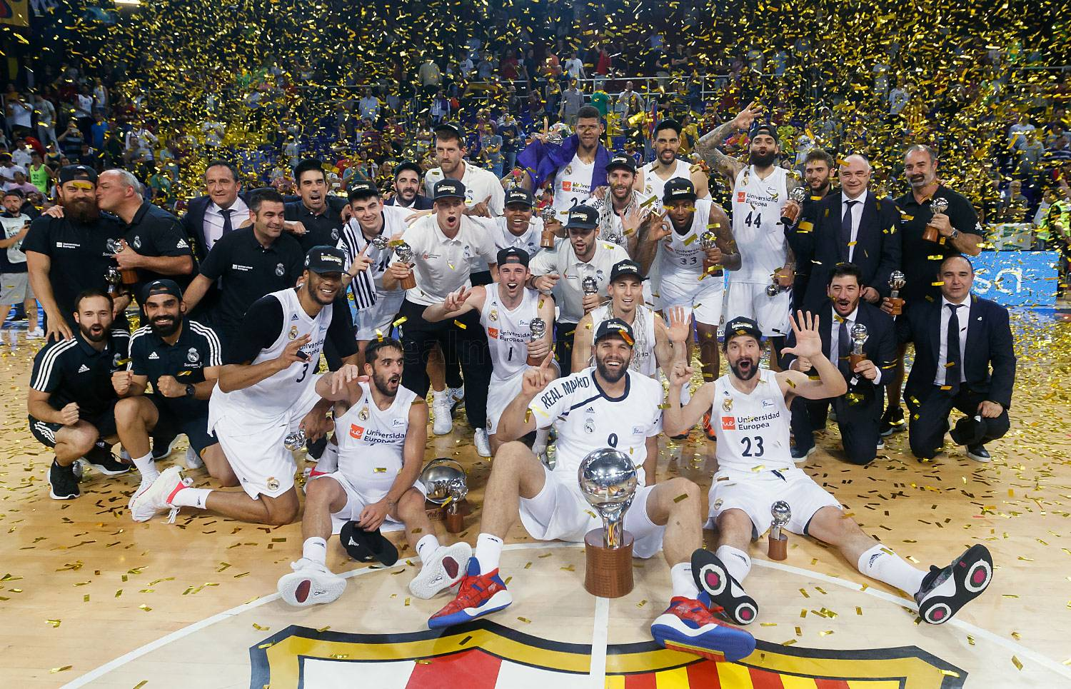 final ACB, real Madrid campeón Barcelona Palau