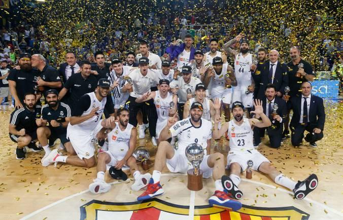 final ACB, real Madrid campeón Barcelona Palau