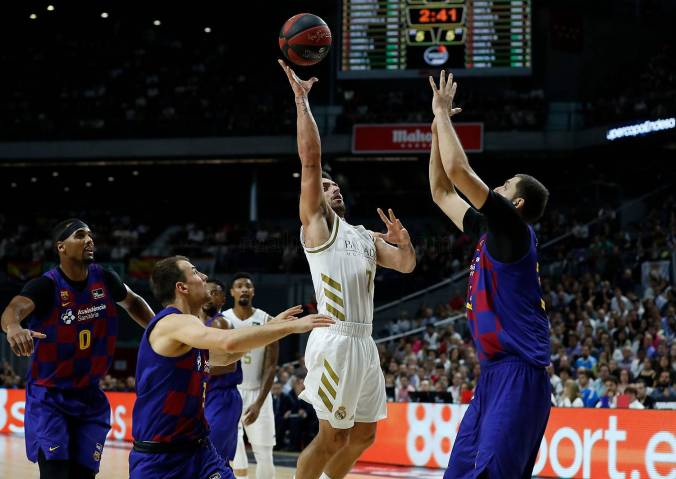 Campazzo Mirotic final Supercopa ACB 2019 Barcelona Real Madrid