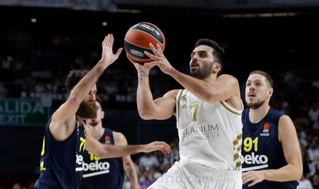 Campazzo fenerbahce Euroleague Real Madrid