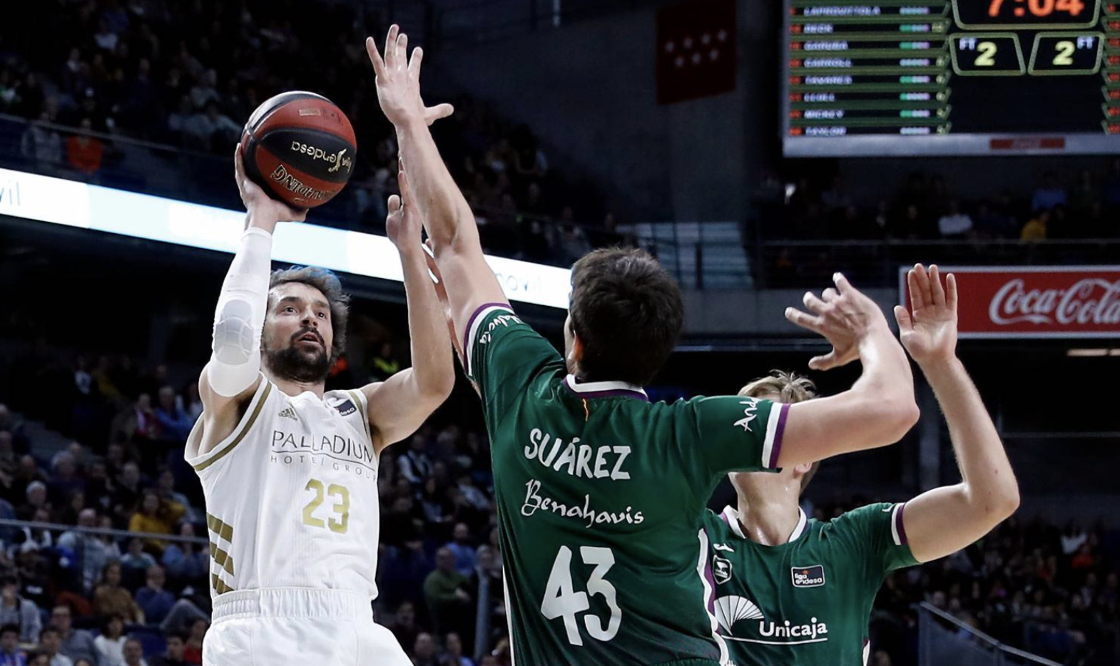 Sergio Llull Real Madrid Unicaja ACB