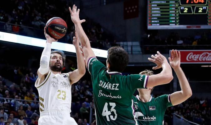 Sergio Llull Real Madrid Unicaja ACB