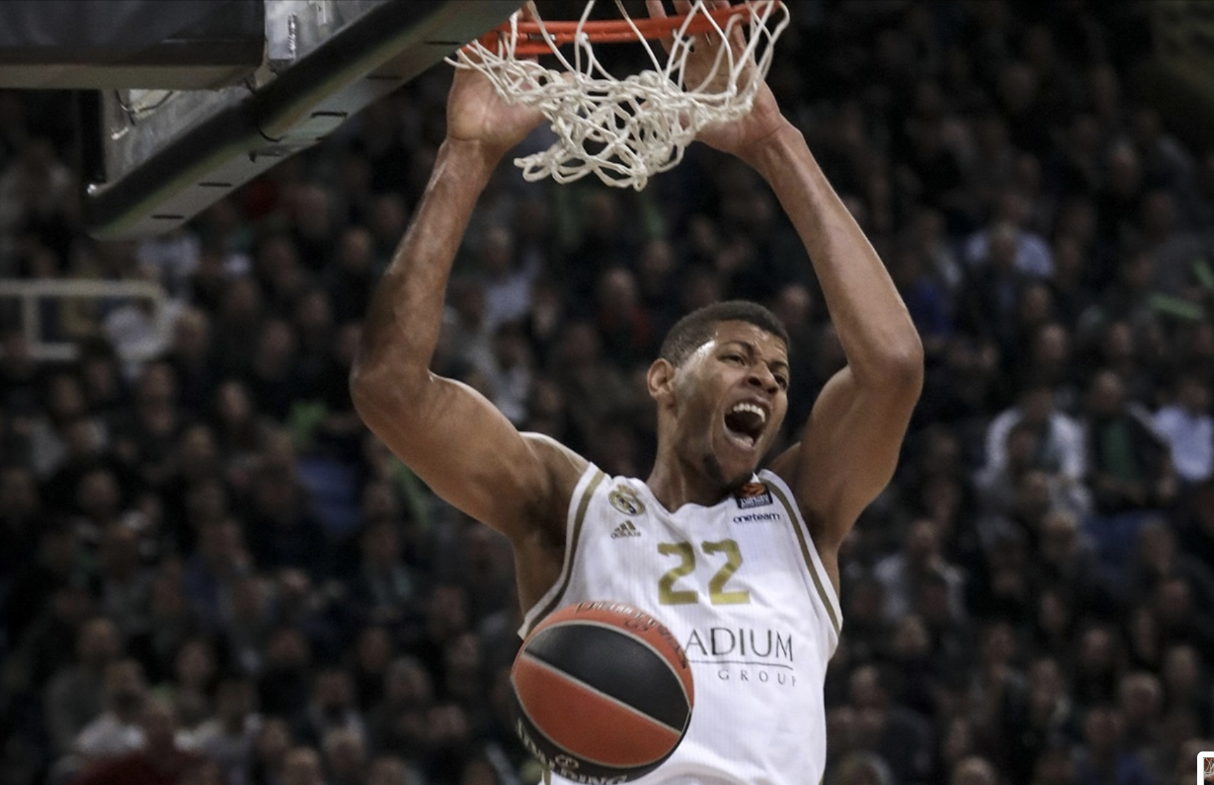 Tavares, el azote de OAKA panathinaikos real madrid euroleague