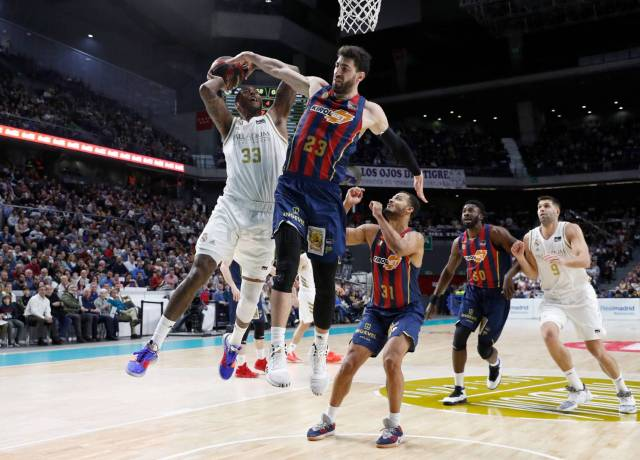 Thompkins Toko Shengelia ACB Real Madrid Baskonia