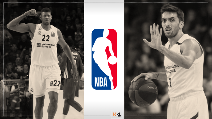 Walter Tavares Facundo Campazzo Real Madrid NBA