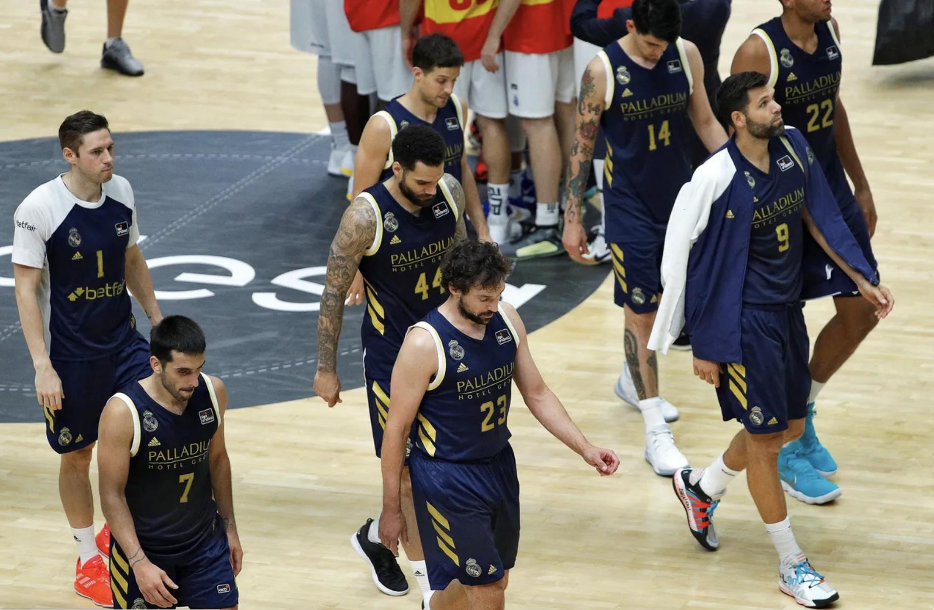 Real Madrid Campazzo Llull felipe reyes ACB
